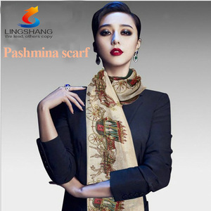 Hot Sale Winter Fashion Printed Scraf Women Shawl printed Ladies Scarves Voile Blends Big Size Shawls Hijabs