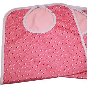 Waterproof Adult Bibs for incontinence design for lady colorful washable bib