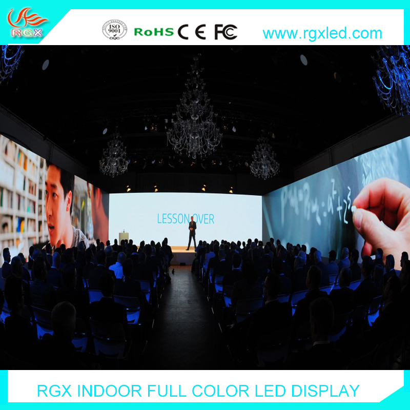 Shenzhen RGX Fast installation and light weight p4 p5 P6 indoor rental led display