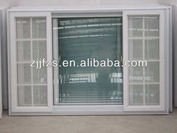 Made in China Plastic Sliding Windowfrench windows models View