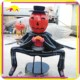 KANO6902 Exhibit Customized Life-Size Fiberglass Halloween Pumpkin