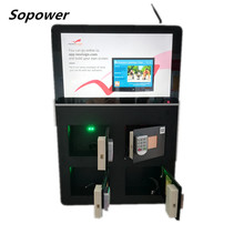 <span class=keywords><strong>벽</strong></span> 잘 고정 된 Wifi 네트워크 형 <span class=keywords><strong>디스플레이</strong></span> Mobile Phone Charging Unit