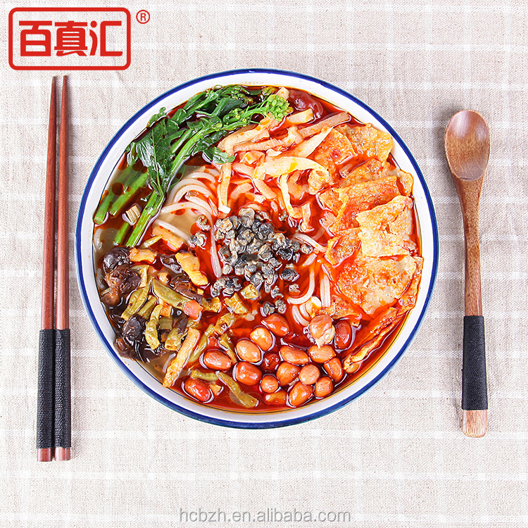 traditional snacks non fried instant noodle Liuzhou river snail rice noodles