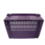 nest stack plastic crates agricultural crate with enclosed handle