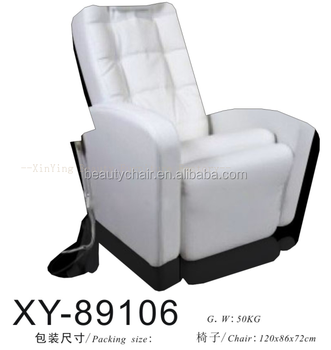 Salon Furniture Foot Massage Pedicure Chair Spa With Adjustable Footrest