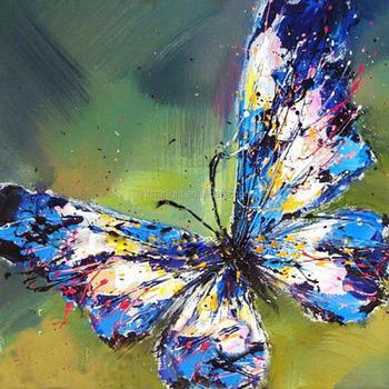 Büyük Mavi Kelebek Kolay Takip Hobi Elmas Resim Sanat Resim Buy