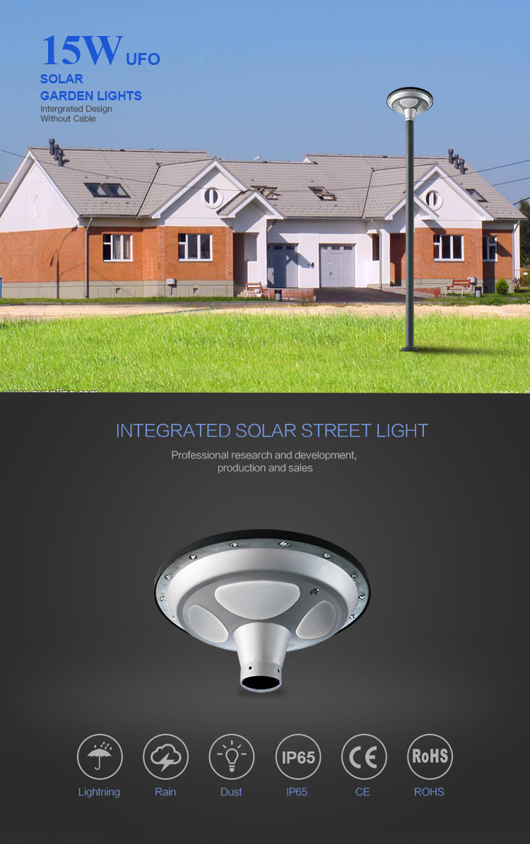 Solar Lighting Hot Sale Garden Light Led Lamp Outdoor Lighting
