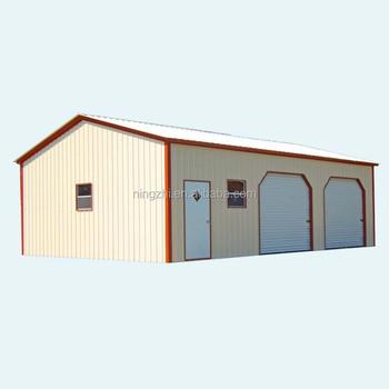 Metal Roof Portable Garage/warehouse/workshop - Buy ...