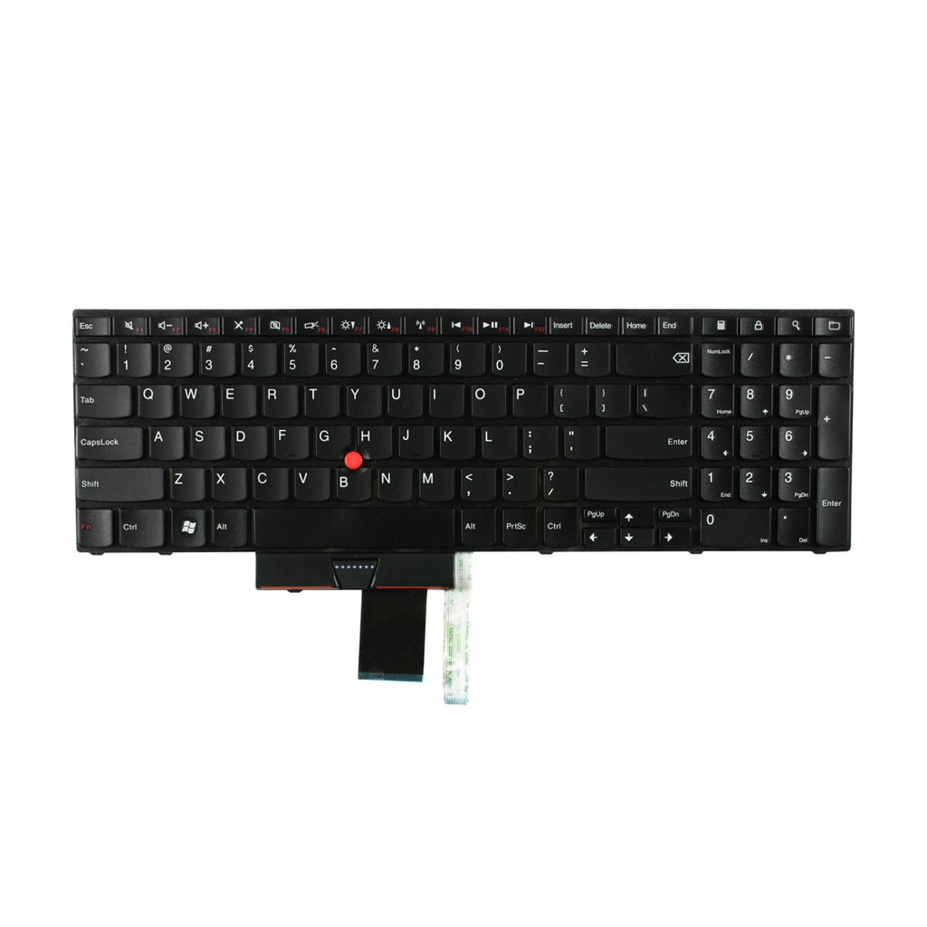 Replacement for Lenovo IBM ThinkPad Edge E520 E520s E525 Laptop Keyboard 15.6 inch Black Us Layout