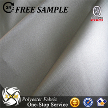 Antistatic silver polyester conductive ripstop fabric for electronic products