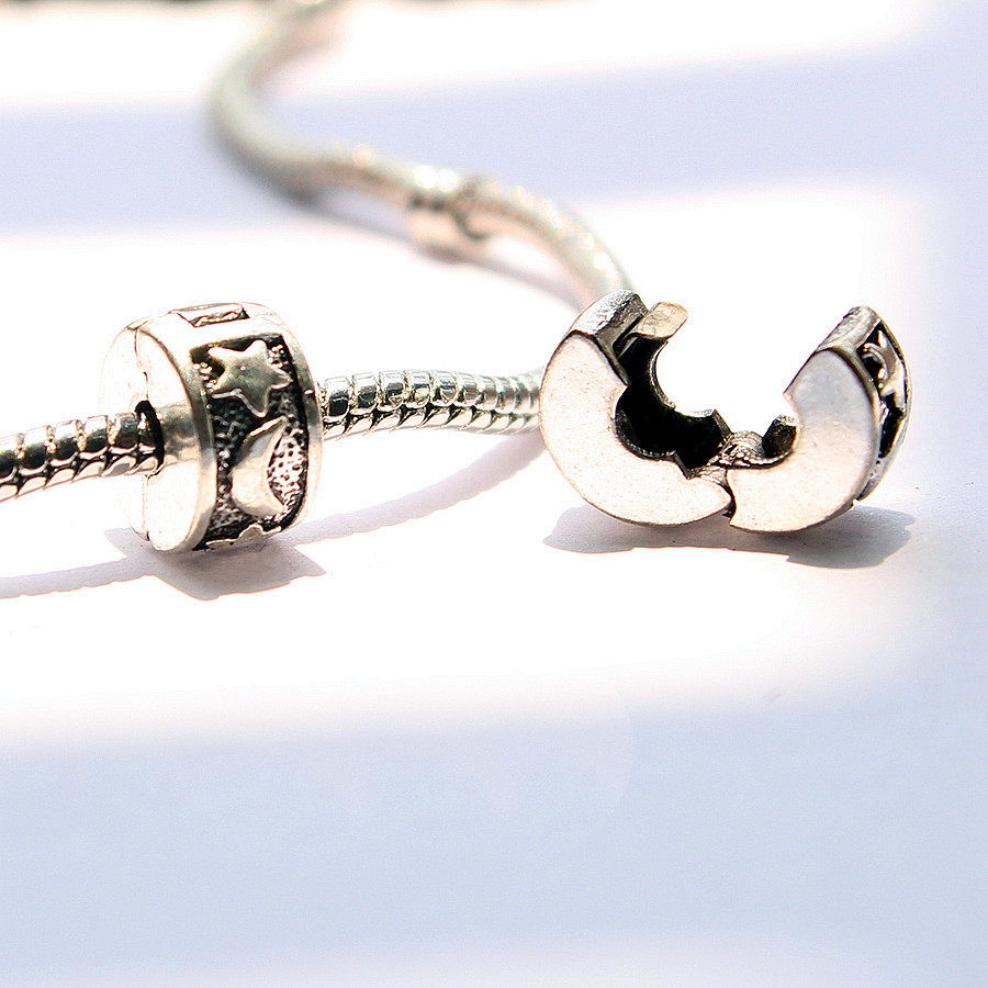 Pandora Jewelry Free Shipping: 1pc Free Shipping Fits Pandora Charms Bracelets Safety
