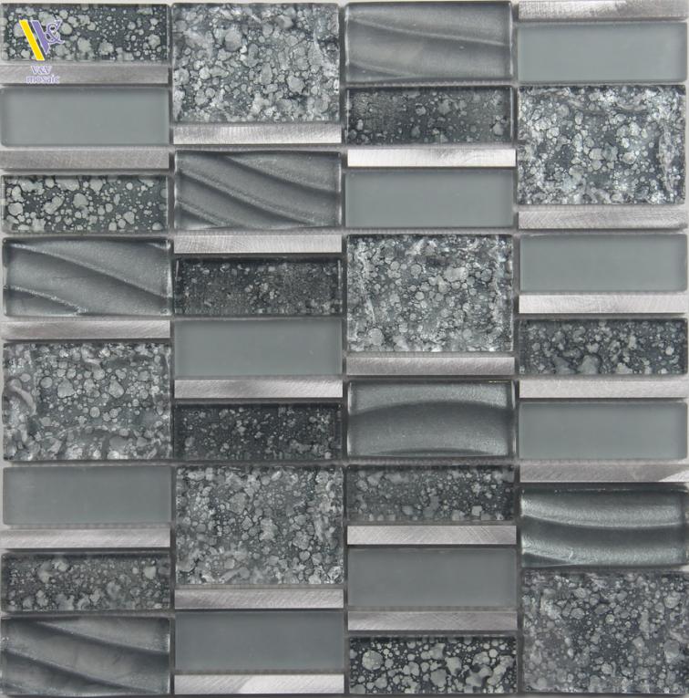 Black Glass Mosaic Tiles For Shower Room Buy Black Mosaic Kitchen For Decoration Black Glass Black Mosaic Mosaic Tile For Backsplash Product On Alibaba Com