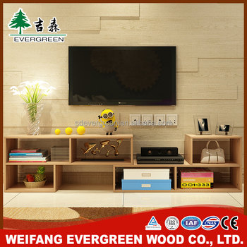 Natural Finish Free Standing Tv Stand For Flat Screen Buy Tv Stand