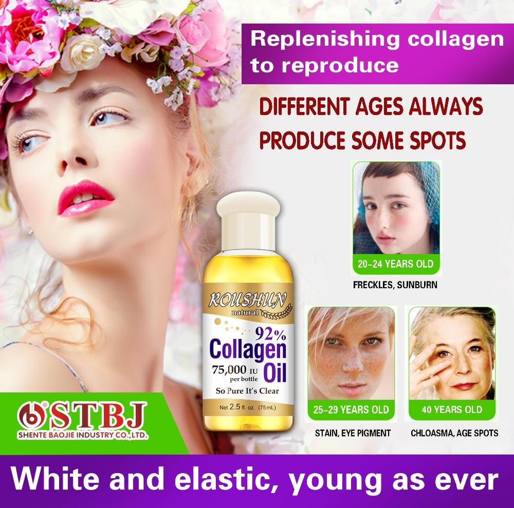 collagen massage body oil