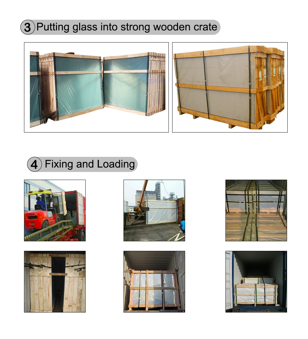 Tempered Laminated Glass 13 14mm Pvb Laminated Glass For