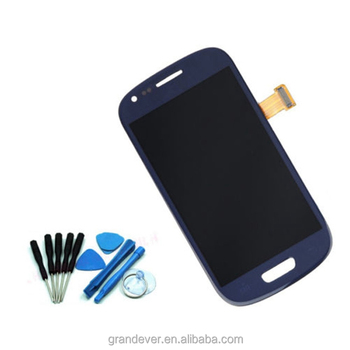 Mobile phone accessories factory in china, Lcd touch screen with digitizer for samsung galaxy S3 mini i8190