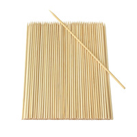 """9 / 12 / 15 Cm Bbq Stick/pick Paddle Shape Bamboo Skewer / Bamboo Teppo"