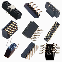 RealRun Supplier 3.96mm /5.08mm Pitch Female Header Connector smd /180 /90 /U Type PCB Terminal Connector