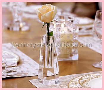 Wedding Decorations Crystal Single Flower Vase Wholesale Buy