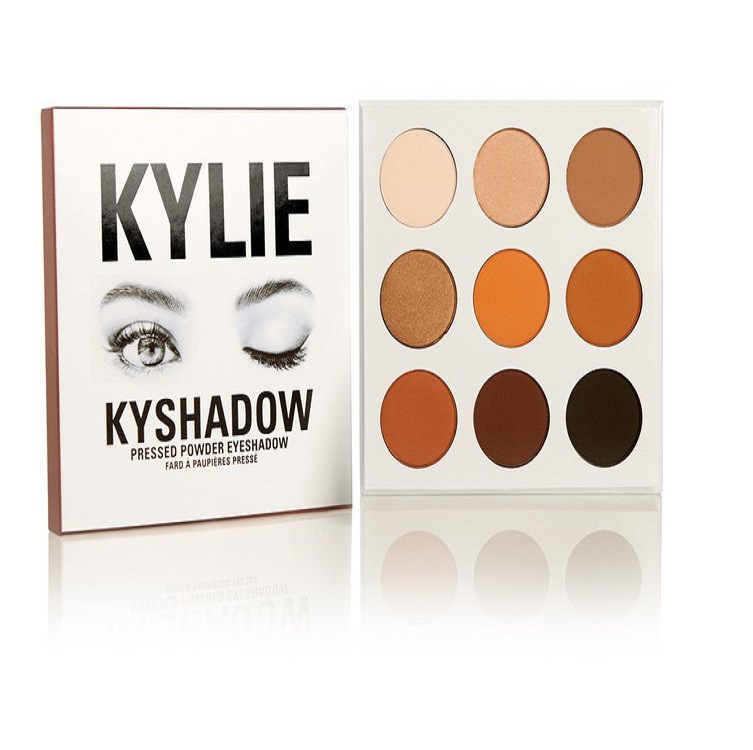 The Bronze Palette from Kylie Cosmetics 9 colors Eyeshadow Makeup Palettes