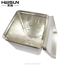 factory price tin box / drum for paint / oil / ink / chemical price