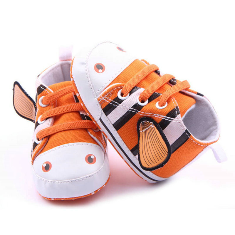 Baby Boys Girl Canvas Shoes Soft Breathable Toddler Shoes Prewalkers