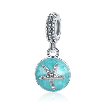 Qings Summer Sea Pendant Charm 925 Sterling Silver Charm and Pendants