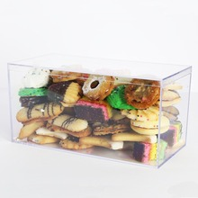 Clear Acrylic Food Storage Container, Lucite Candy Box With Lid