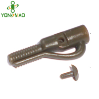 safety lead clips with pin carp fishing tackle