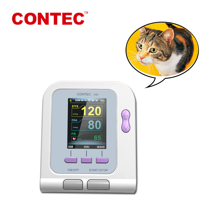 CONTEC08A-VET sphygmomanometer veterinary can measure blood pressure for animals