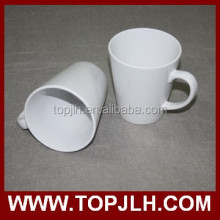 CE Approved Cone Shaped Ceramic Magic Coffee Mugs for Promotional