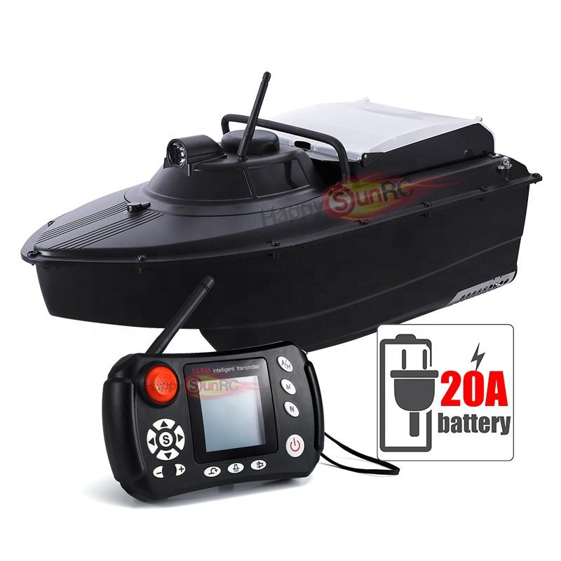 Europe 2019 Jabo 2cg 20A fish finder sonar plastic abs bait boat hulls barcos rc para pescar