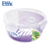 Food grade pp large plastic salad storage bowl