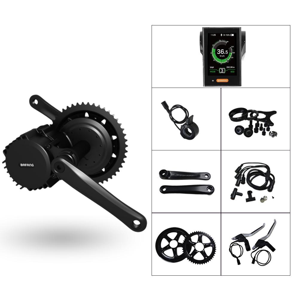 BAFANG BBSHD 48V 1000W MM.G320.1000 eBike Mid kit for Electric Bike Motor Conversion Kit with C961 C965 850C DPC18 750C Display
