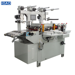 Automatic Flatbed roll foam adhesive tape die cutting machine