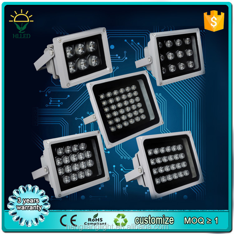 DC12v 24v DMX RGB color changing high power COB 10w 12w 50w led flood light