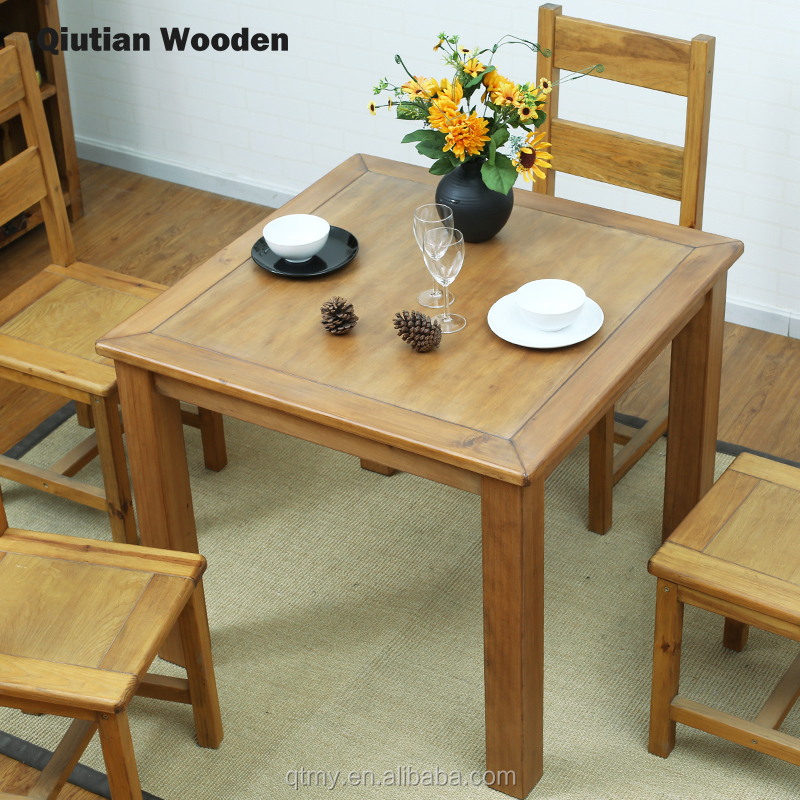 Wooden Dining Table Sets Solid Wood Square Table Dining Room Furniture  Small Table Japanese Furniture - Buy Wooden Dining Table,Small Table,Square  ...