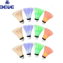 Top Selling Glow In The Dark Licht Badminton <span class=keywords><strong>Shuttle</strong></span> Led