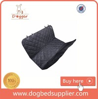 Best Auto Back Rear Quilted Waterproof Hammock Pet Seat Cover for Dogs & Pets with Protector Pad