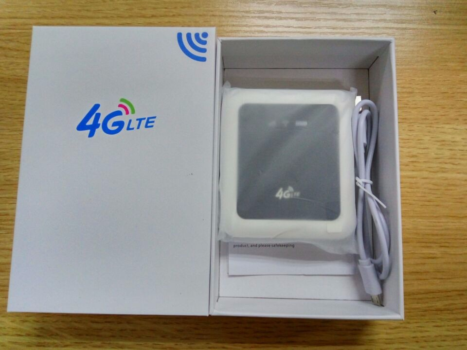 4g LTE WiFi Router Portable hotspot wireless router with power bank