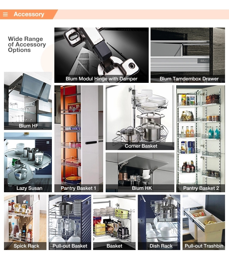 Фабричные магазины современный остров дизайн дешевые твердой древесины белый Kitchen cabinet (3)