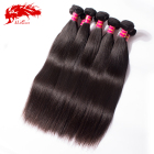 Natural virgin hair Malaysian Indian and brazilian Straight human hair