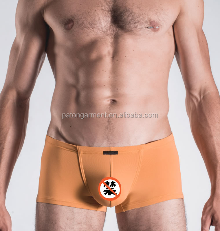 Custom slimming fitness mens mini modal boxer briefs