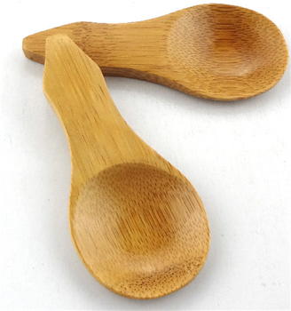 Top-quality 100% natural bamboo spoon Burnished Bamboo Tea Scoop