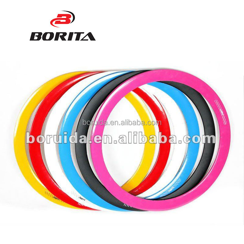 Aluminum Alloy Anodized multicolor fixed gear bicycle rims 700c