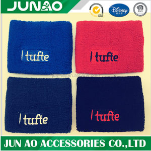 wholesale track and field team headbands customized sports sweatbands athletic tennis soccer headbands / wristband