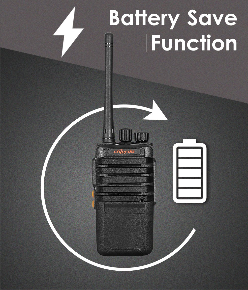Walkie Talkie  UHF 400-470MHz  wireless communication system for restaurant