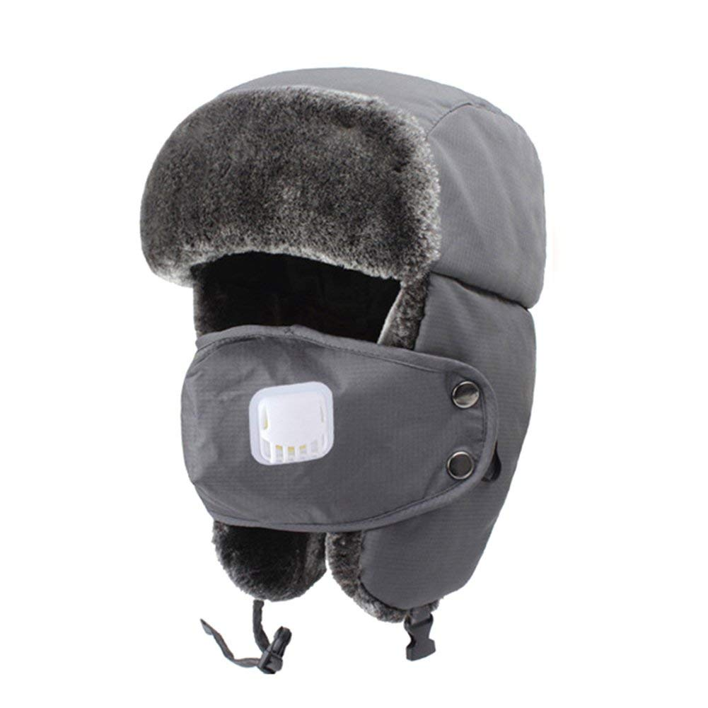Shantan Unisex Winter Warm Trapper Ushanka Hat 88414fbe484