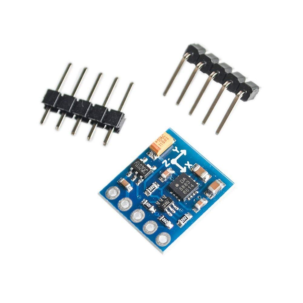 5PCS/LOT GY-271 QMC5883 QMC5883L module electronic compass compass module three-axis magnetic field sensor