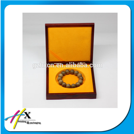 Classic cheap wooden jewelry bracelet jewelry box for slae